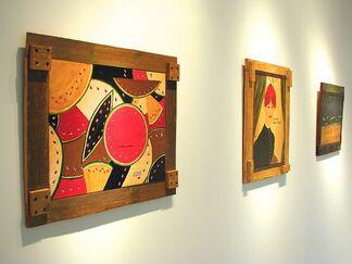 Elias Telles; Paintings, installation view