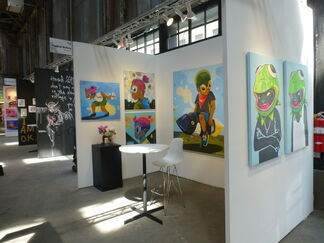 Vertical Gallery at Moniker International Art Fair - Brooklyn 2018, installation view