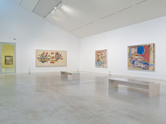 MAKING PAINTING: Helen Frankenthaler and JMW Turner, installation view