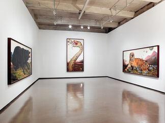 "Walton Ford ""Watercolors"", installation view"