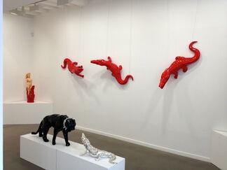 Pop Animals, installation view