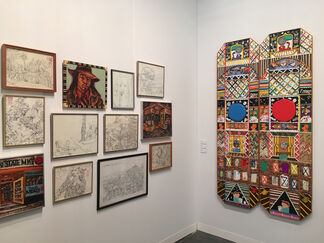 P.P.O.W at The Armory Show 2017, installation view