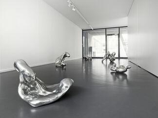 Aluminium Pours, installation view
