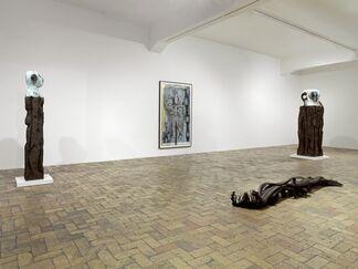 Gallery Weekend Berlin: HUMA BHABHA, installation view