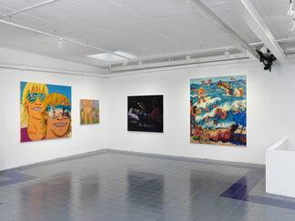 Todd Bienvenu - Dive, installation view