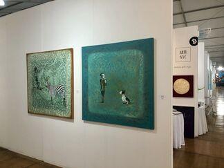 ARTI.NYC at Spectrum Miami 2017, installation view