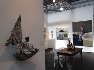 Seager Gray Gallery at Art Market San Francisco 2017, installation view