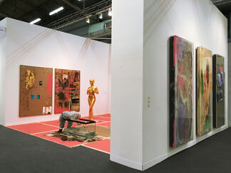 Galerie Guido W. Baudach at The Armory Show 2016, installation view