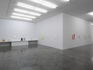 Jürgen Partenheimer: Lichtschwarm, installation view