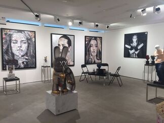 Samhart Gallery at SCOPE Basel 2018, installation view