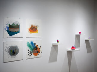 MATERIALS / ABSTRACTION, installation view