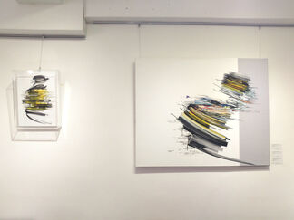 Jean-Philippe Duboscq and Manuel Geerinck, installation view