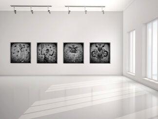 Bestiary by François Brumas, installation view