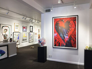 """a Jim Dine exhibition """"Love at Sea"""", installation view"""