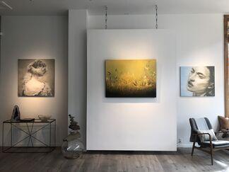 San Francisco + Budapest, installation view