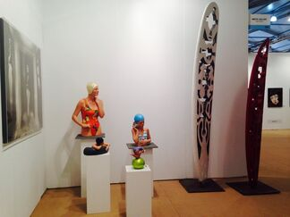Amstel Gallery at Art Southampton 2014, installation view