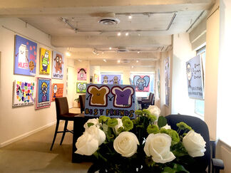 Never Grow Up: The Art of Todd Goldman, installation view
