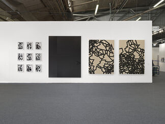 Galerie Eva Presenhuber at The Armory Show 2016, installation view