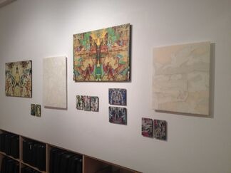 J Ivcevich: shreds, installation view