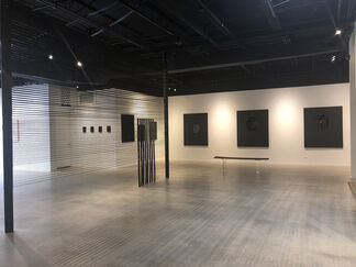 Black Surface - The Undoing Process by Tony Vazquez-Figueroa, installation view