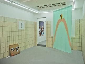 Stadt, Land, Name, Titel, installation view