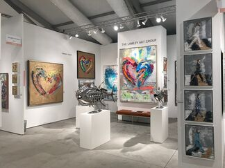 The Lawley Art Group at Art Wynwood 2019, installation view
