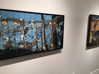 Brushed With Reality, installation view