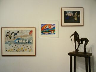 ERNA PARTOLL paintings, installation view