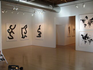 Skeleton Images Tossed by Chance: New Prints by Carlos Amorales, installation view