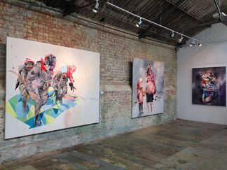Joram Roukes 'The Great Beyond', installation view