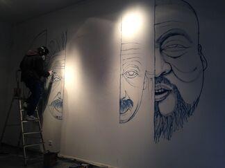 Évolution du Bleu, installation view