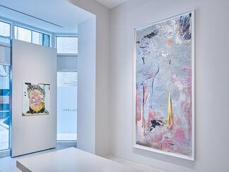 Wolfgang Betke   SO IST DIE LAGE, installation view