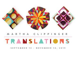 Martha Clippinger: Translations, installation view