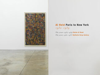 Al Held: Paris to New York 1952-1959, installation view