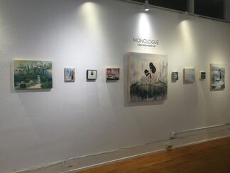 Monologue, A Solo Show by Mandy Chao, installation view