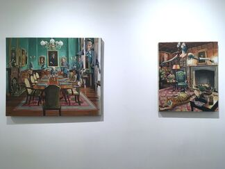 New Paintings By RU8ICON1, installation view