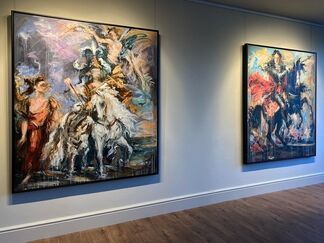 Rococo vs. Baroque, installation view