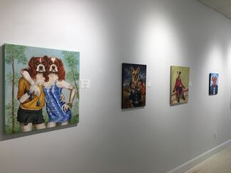 Paws For Art, installation view
