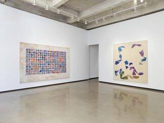 Simon Hantai: Blancs, installation view