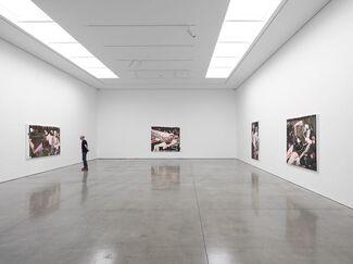 Magnus Plessen: The Skin of Volume, installation view