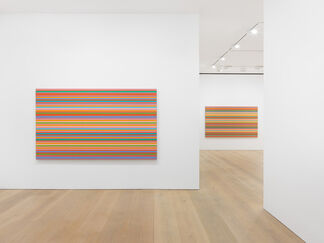 Bridget Riley: The Stripe Paintings 1961-2014, installation view