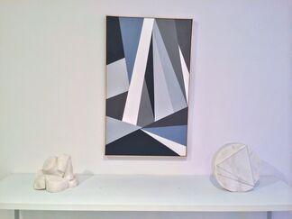 3,000 Years of Geometry : featuring pre-Columbian art, work by Fanny Sanin, Elizabeth Jobim, Emilio Sanchez, Alicia Ehni, installation view