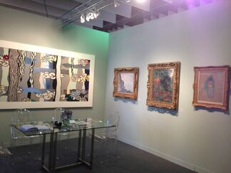 Chowaiki & Co. at The Armory Show 2013, installation view