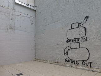 Lombard Freid Gallery: Dan Perjovschi: Exit Strategy, installation view