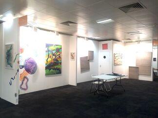 O-68 at London Art Fair 2019, installation view