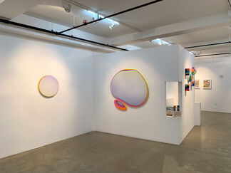 GEOMETRIC HEAT: Marco Casentini, Jan Kalab, Adam Lucas, Daniel Rich, installation view