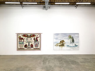 DOWN AND DIRTY, installation view