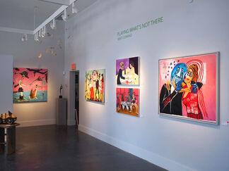 PLAYING WHAT'S NOT THERE: Whit Conrad, installation view