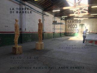 La Torre di Babele, installation view