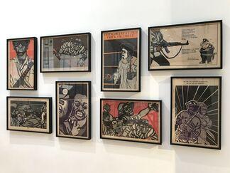 Bim Bam Gallery at DDESSINPARIS 2020, installation view